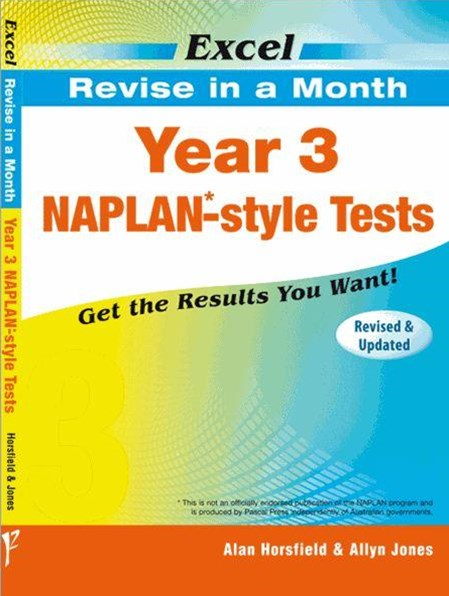 Excel Revise in a Month NAPLAN-style Tests Year 3