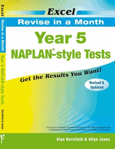 Excel Revise in a Month NAPLAN-style Tests Year 5   | Tuggl