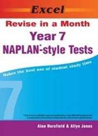 Excel Revise in a Month NAPLAN-style Tests Year 7