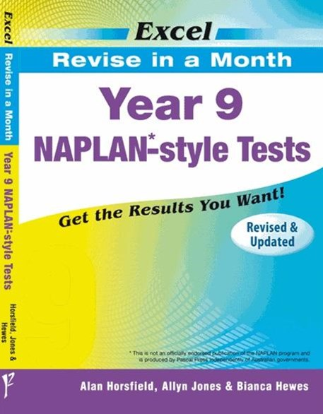 Excel Revise in a Month NAPLAN-style Tests Year 9