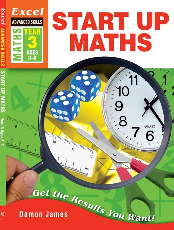 Excel Advanced Skills Workbooks: Start Up Maths Year 3