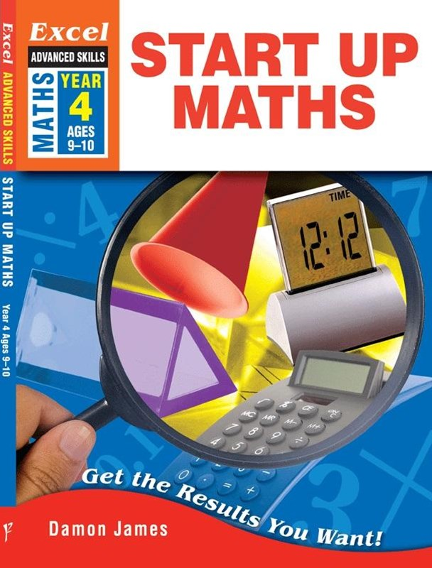 Excel Advanced Skills Workbooks: Start Up Maths Year 4