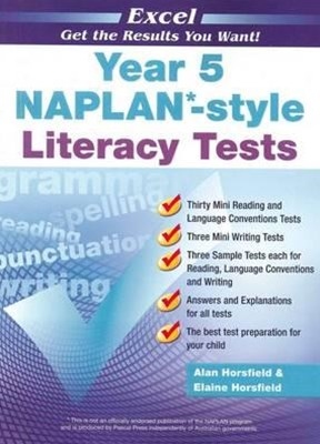 Excel NAPLAN-style Literacy Tests Year 5