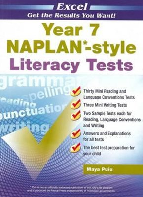 Excel NAPLAN-style Literacy Tests Year 7