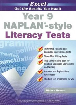 Excel NAPLAN-style Literacy Tests Year 9