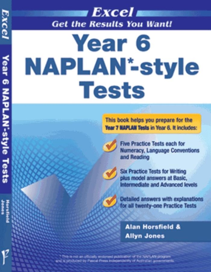 Excel NAPLAN-style Tests Year 6
