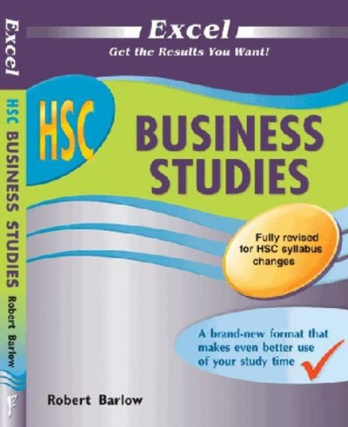 Excel Study Guide: HSC Business Studies Year 12