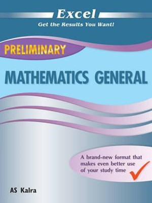 Excel Study Guide: Preliminary Mathematics General Year 11
