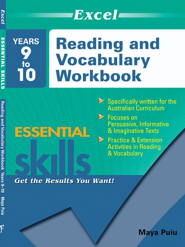 Excel Essential Skills: Reading and Vocabulary Workbook Years 9–10