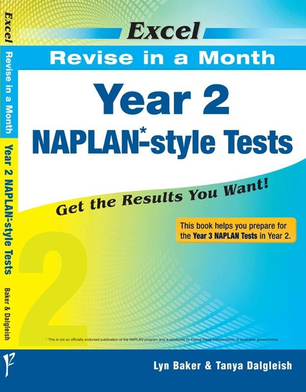 Excel Revise in a Month NAPLAN-style Tests Year 2