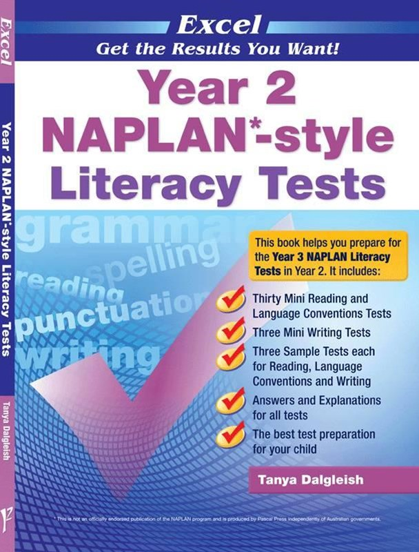 Excel NAPLAN-style Literacy Tests Year 2