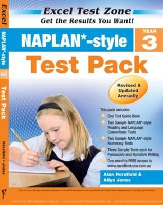 Excel Test Zone NAPLAN-style Test Pack Year 3