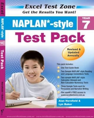 Excel Test Zone NAPLAN-style Test Pack Year 7