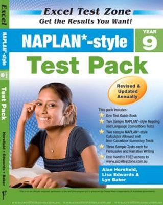 Excel Test Zone NAPLAN-style Test Pack Year 9