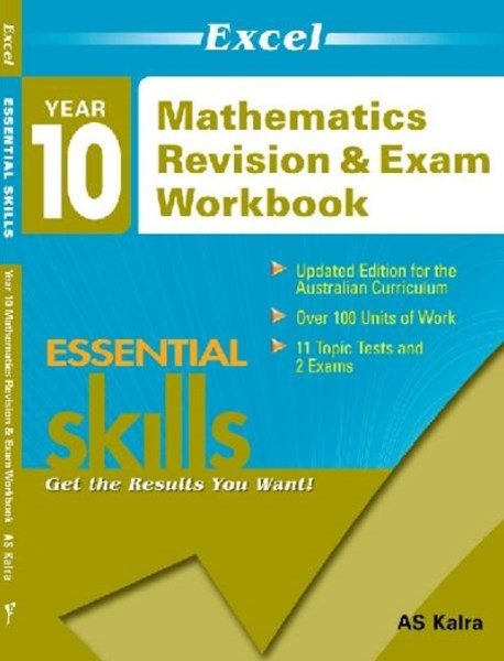 Excel Essential Skills: Mathematics Revision & Exam Workbook Year 10