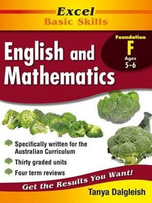 Excel Basic Skills Core Books: English and Mathematics Kindergarten/Foundation