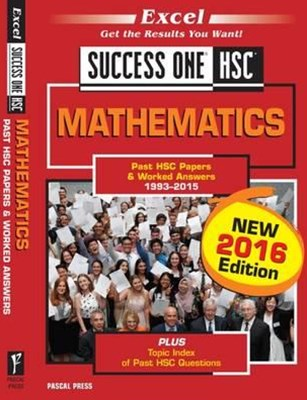 Excel Success One HSC Mathematics 2016 Edition