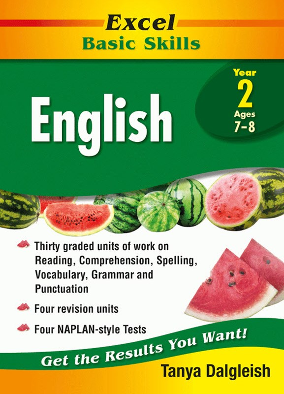 Excel Basic Skills Core Books: English Year 2