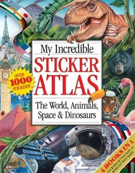 My Incredible Sticker Atlas