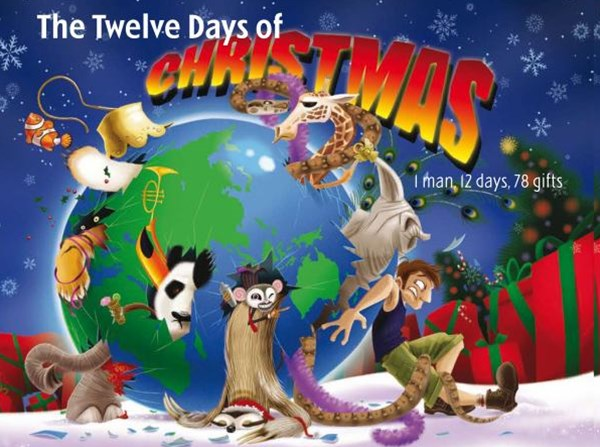TWELVE DAYS OF CHRISTMAS: 1 MAN, 12 DAYS, 78 GIFTS