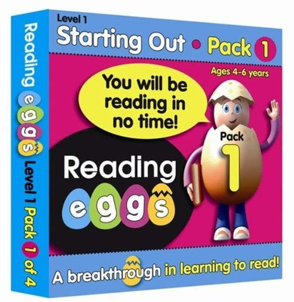 ABC Reading Eggs Level 1 Starting Out Book Pack 1 Ages 4–6