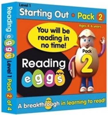 ABC Reading Eggs Level 1 Starting Out Book Pack 2 Ages 4–6