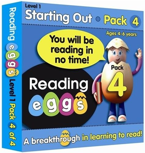 ABC Reading Eggs Level 1 Starting Out Book Pack 4 Ages 4–6