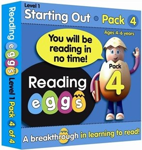 ABC Reading Eggs Level 1 Starting Out Book Pack 4 Ages 4–6 by Katy Pike, Cliff Cox (9781742150185) - PaperBack - Non-Fiction Art & Activity