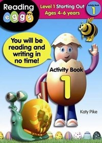 ABC Reading Eggs Level 1 Starting Out Activity Book 1 Ages 4GÇô6