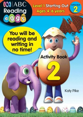 ABC Reading Eggs Level 1 Starting Out Activity Book 2 Ages 4–6