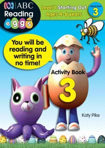 ABC Reading Eggs Level 1 Starting Out Activity Book 3 Ages 4–6