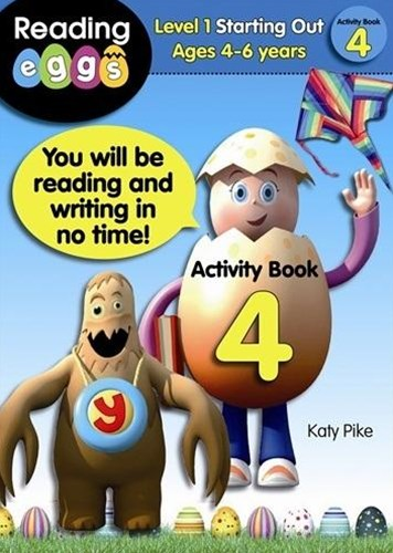 ABC Reading Eggs Level 1 Starting Out Activity Book 4 Ages 4–6