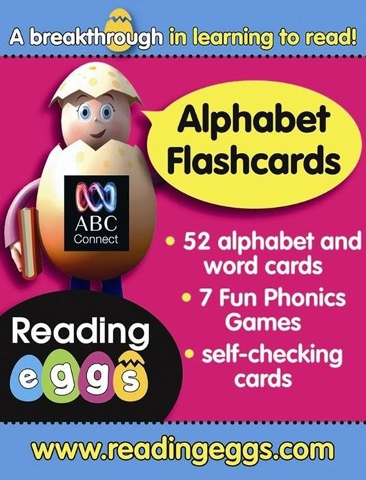 ABC Reading Eggs Level 1 Starting Out Alphabet Flashcards Ages 4GÇô6