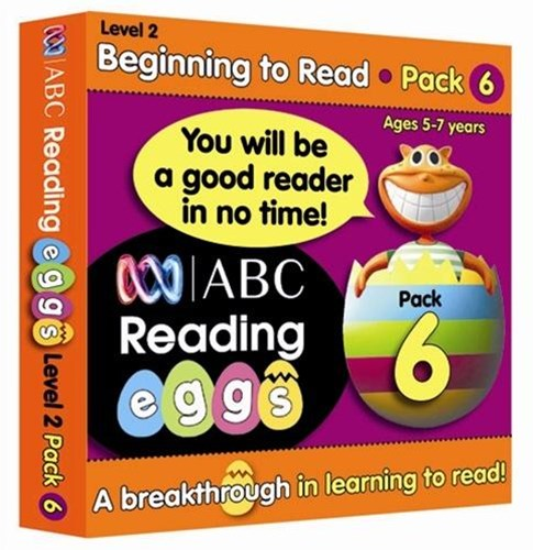 ABC Reading Eggs Level 2 Beginning to Read Book Pack 6 Ages 5–7