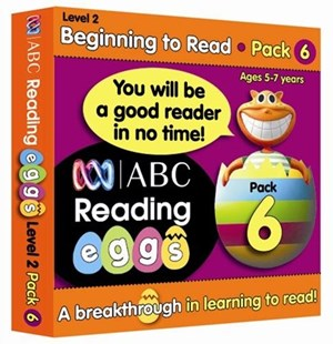 ABC Reading Eggs Level 2 Beginning to Read Book Pack 6 Ages 5–7 by Katy Pike, Katy Pike, Cliff Cox (9781742150765) - PaperBack - Non-Fiction Early Learning