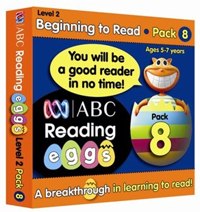 ABC Reading Eggs Level 2 Beginning to Read Book Pack 8 Ages 5–7 by Katy Pike, Katy Pike, Cliff Cox (9781742150789) - PaperBack - Non-Fiction Early Learning