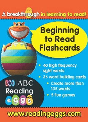 ABC Reading Eggs Level 2 Beginning to Read Flashcards Ages 5GÇô7