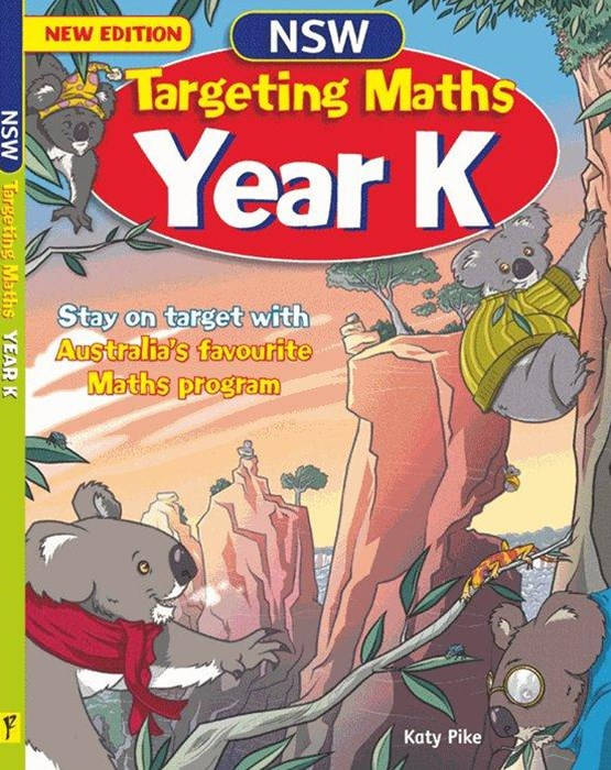 NSW Targeting Maths Australian Curriculum Edition Student Book Year K