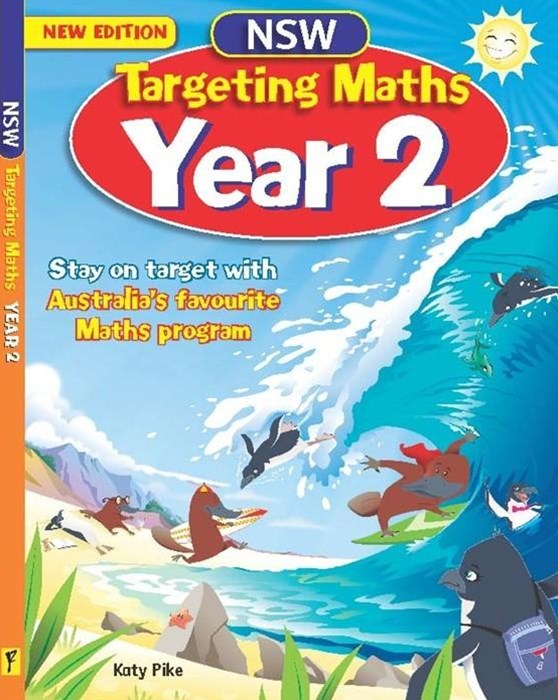 NSW Targeting Maths Australian Curriculum Edition Student Book Year 2