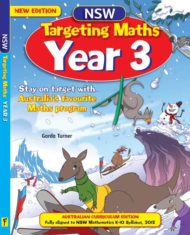 NSW Targeting Maths Australian Curriculum Edition Student Book Year 3