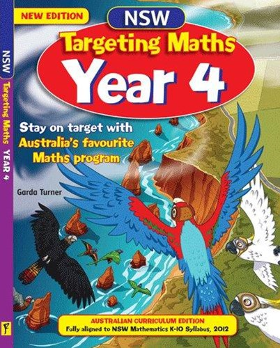 NSW Targeting Maths Australian Curriculum Edition Student Book Year 4