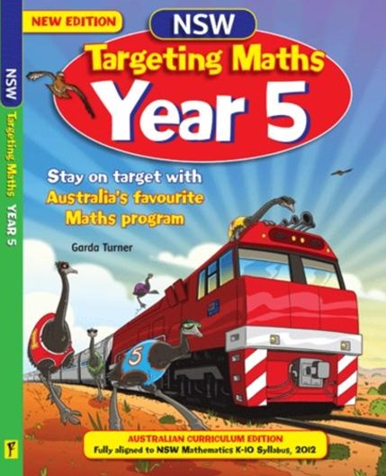 NSW Targeting Maths Australian Curriculum Edition Student Book Year 5