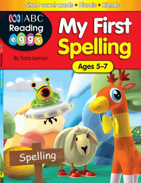ABC Reading Eggs My First Spelling Ages 5–7