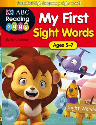 ABC Reading Eggs My First Sight Words Ages 5–7