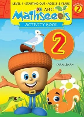 ABC Mathseeds Activity Book 2 Level 1 Ages 3–5