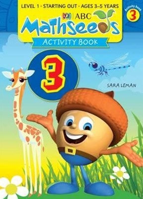 ABC Mathseeds Activity Book 3 Level 1 Ages 3–5