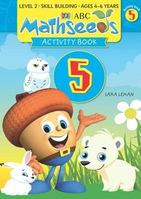 ABC Mathseeds Activity Book 5 Level 2 Ages 4–6