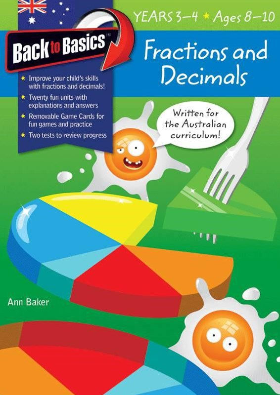 Blake's Back to Basics – Fractions & Decimals Years 3–4