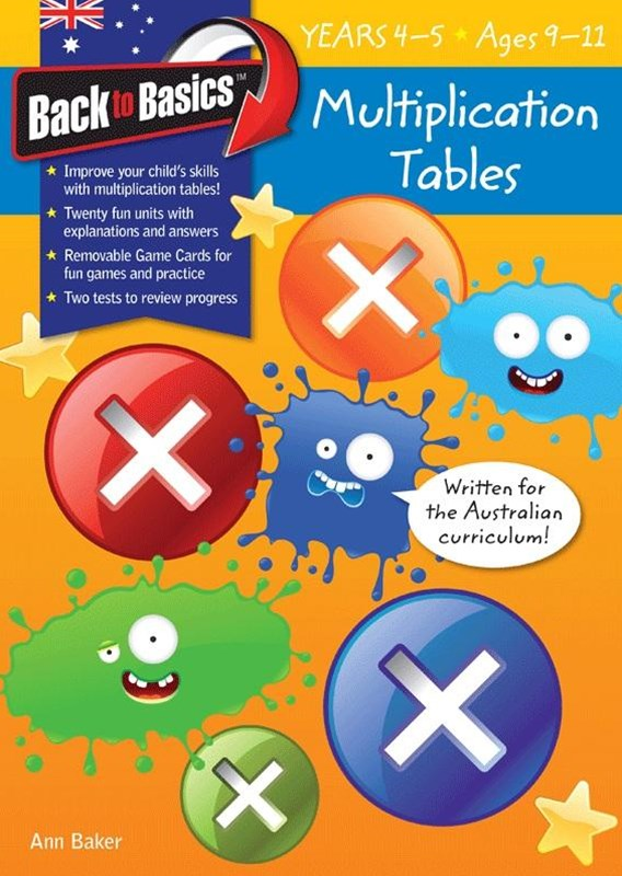 Blake's Back to Basics – Multiplication Tables book 2 Years 4–5