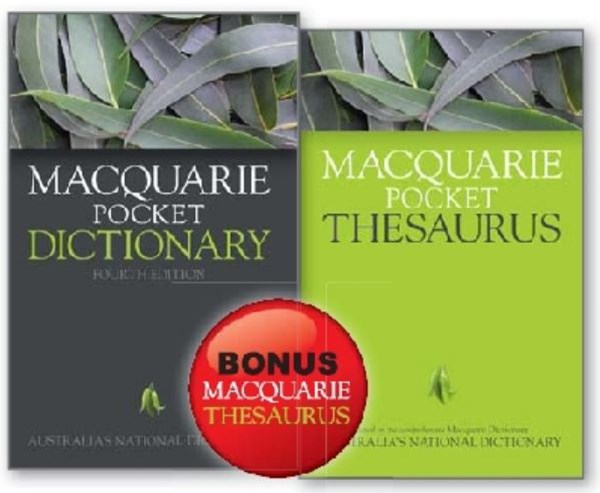 Macquarie Pocket Dictionary 4E + Bonus Pocket Thesaurus